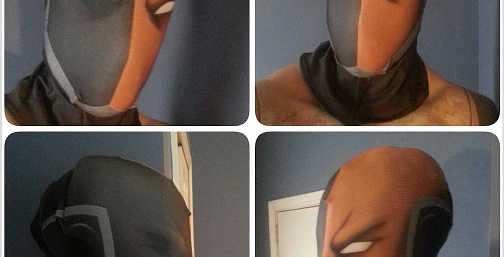 son of batman Deathstroke mask