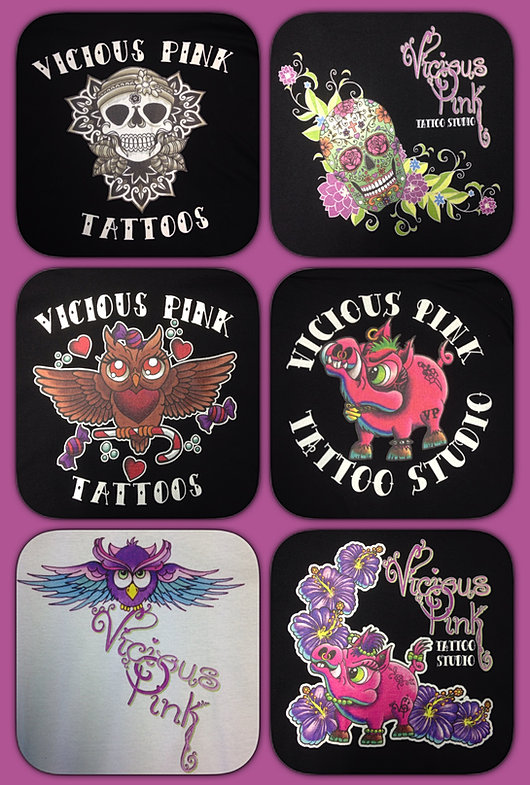 Vicious pink tattoo studio oswestry products for sale for Tattoo stuff for sale