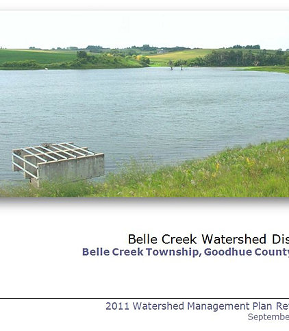 Goodhue soil and water conservation district belle creek wd Belle creek