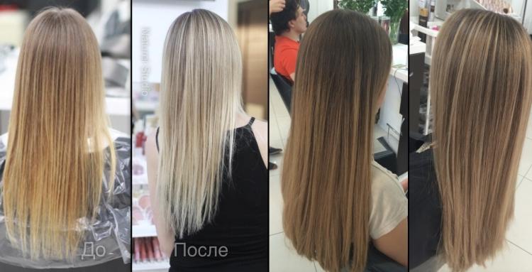 Тонирование и окрашивание волос в чем разница
