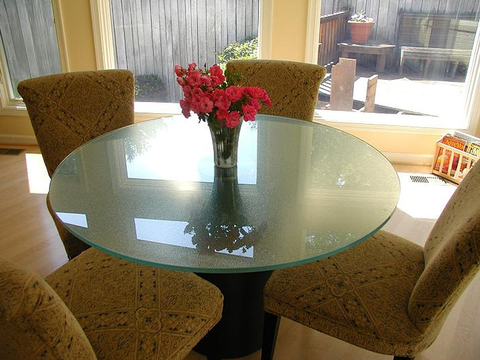 Exceptional LAMINATED GLASS ROUND