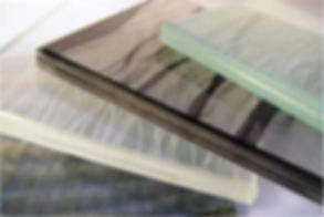 textiles laminated in glass new york
