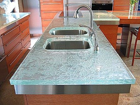 Glass Countertops U2013 They Look Classy | Giovani Glass New York | Antique  Mirror | Kitchen Backsplash And More