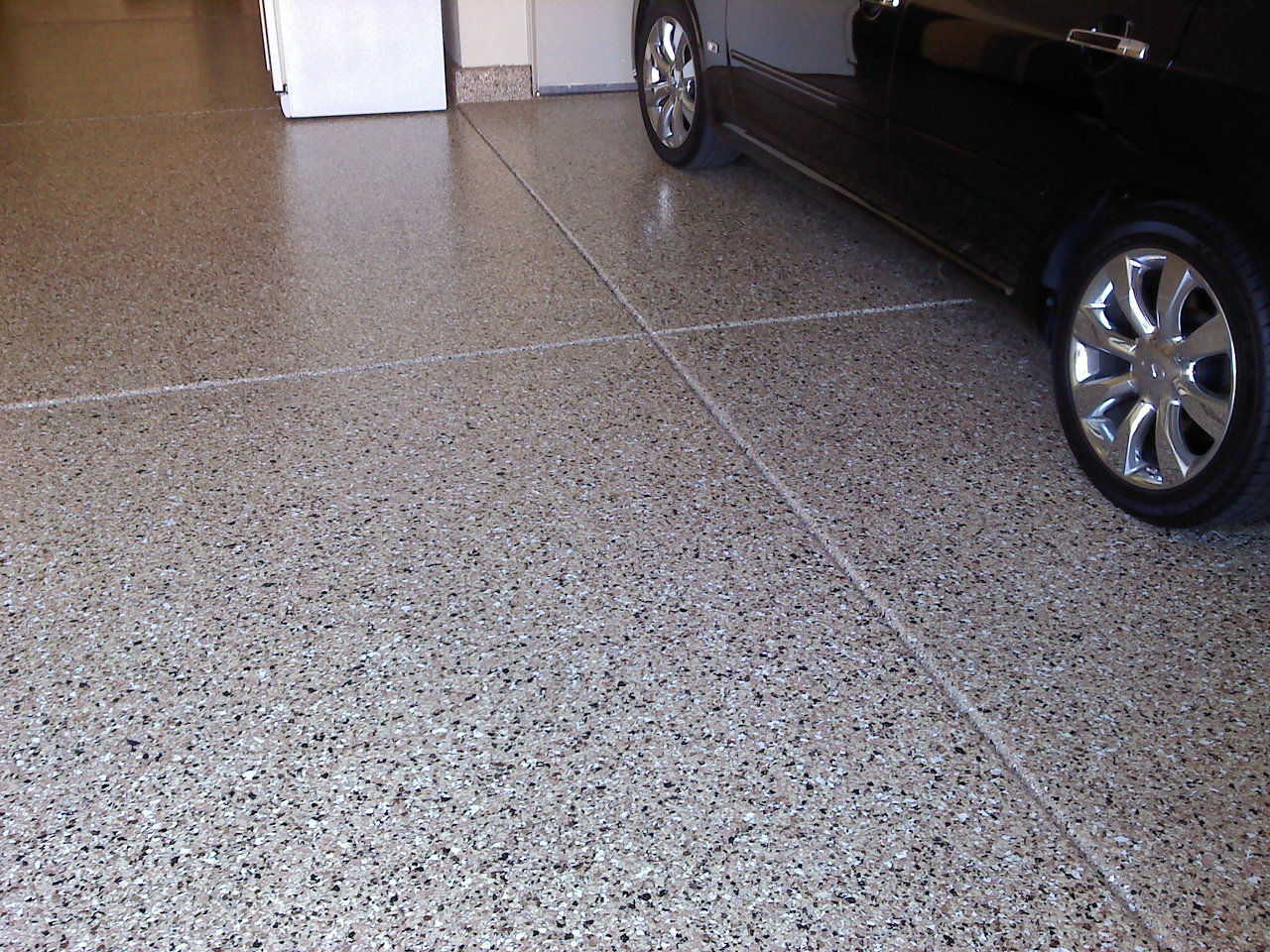 Garage Cabinets And Epoxy Floor Coatings California