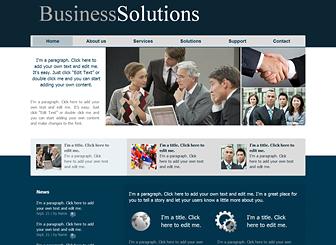 Business Services Template - Bu profesyonel site ile işletmenizi bugün internete taşıyın. Dertsiz tasasız. Sadece kendi resim ve yazılarınızı ekleyin. Tamamen değiştirilebilir bu şablon ile işletmenizi internetteki varlığını sağlayın!