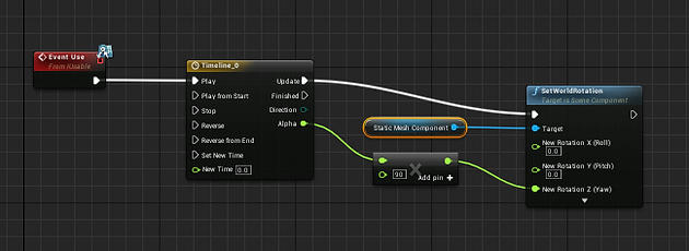 Ue tip using blueprint interfaces to implement easy usables open the door trigger the effect consume the objectetc the use event can also optionally include a parameter for the instigator malvernweather Image collections