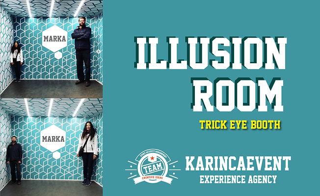 Illusion Room - Ames Room - Eğlence Fotoğraf Odası