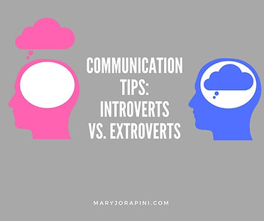 dating tips for extroverts