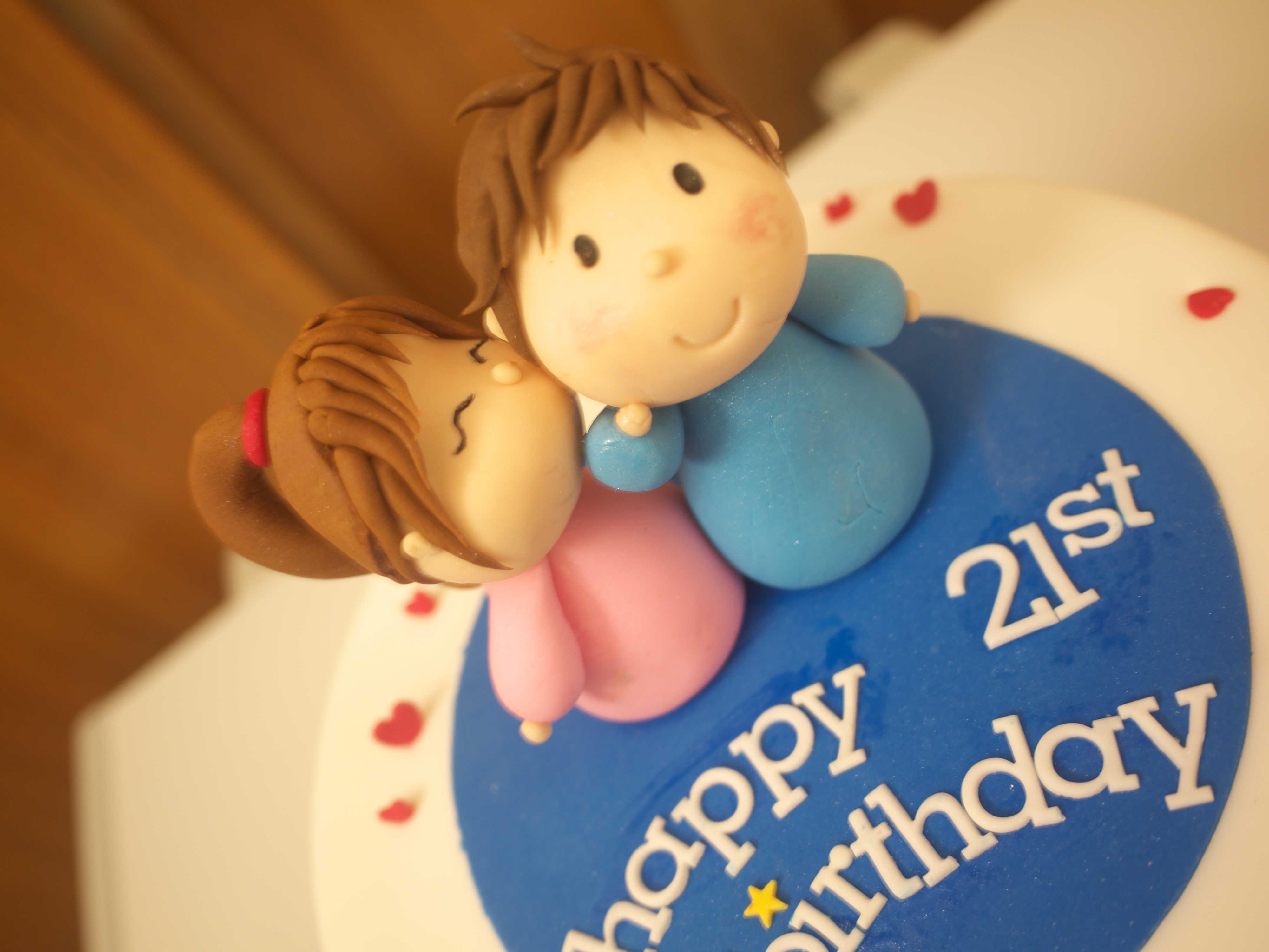 Xiao by Crustz  Boyfriend Birthday Cake