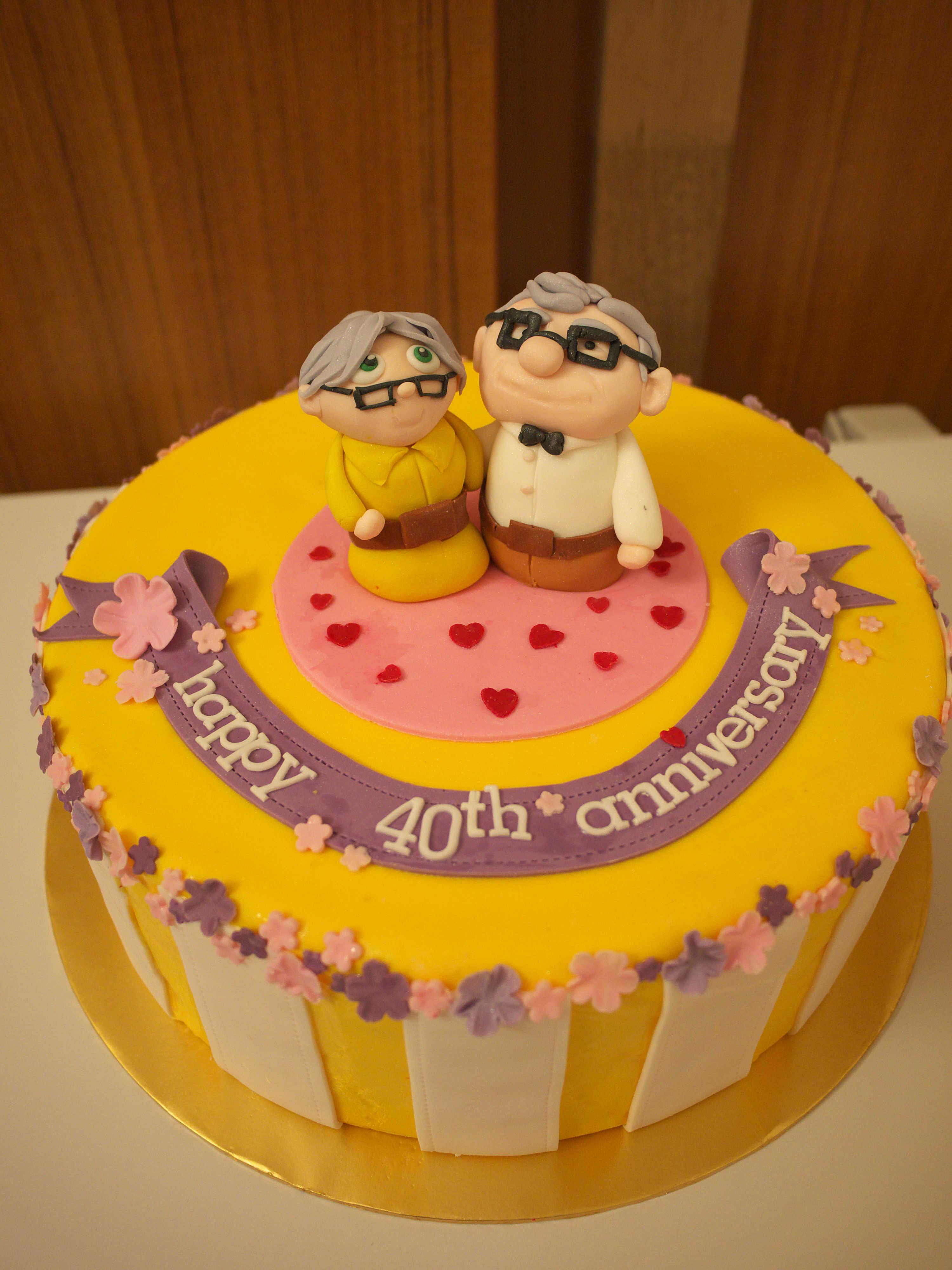 Xiao By Crustz Grandpa Grandma Cake