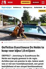 Guesthouse de Heide te koop