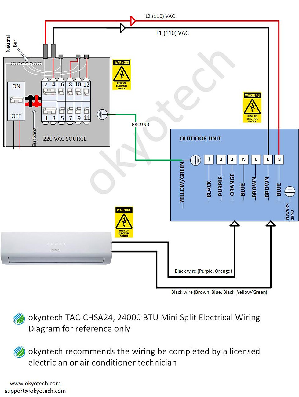 split system wiring diagram split image wiring diagram okyotech 3d mini split ductless air conditioner cooling heating on split system wiring diagram