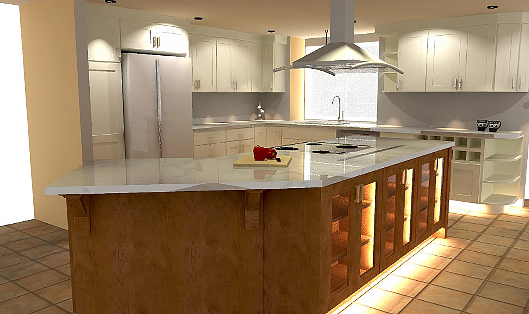 3D Designed Kitchens and Bathrooms