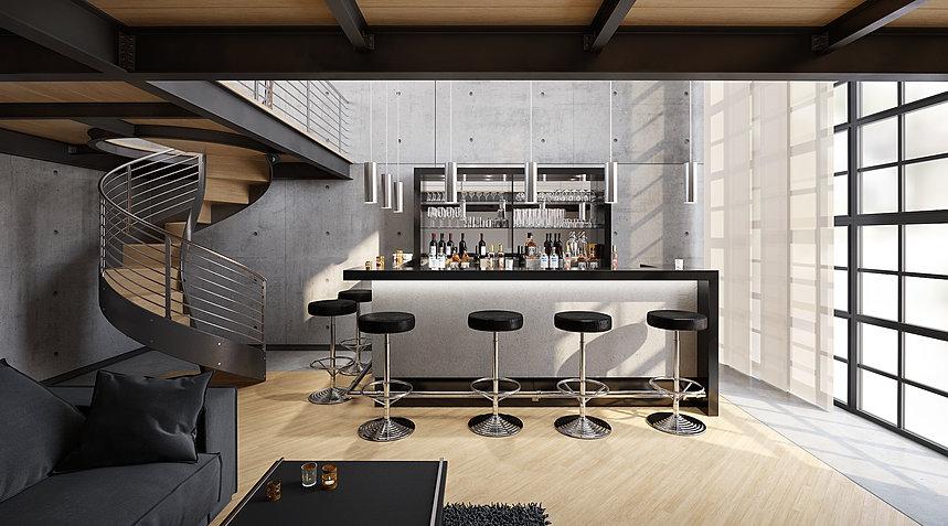 theken und kellerbars von ullmann hausbars. Black Bedroom Furniture Sets. Home Design Ideas
