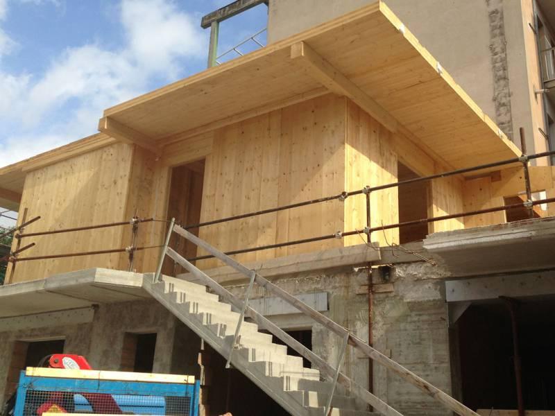 Sopraelevazioni caltanissetta riggi legnami srl case di legno