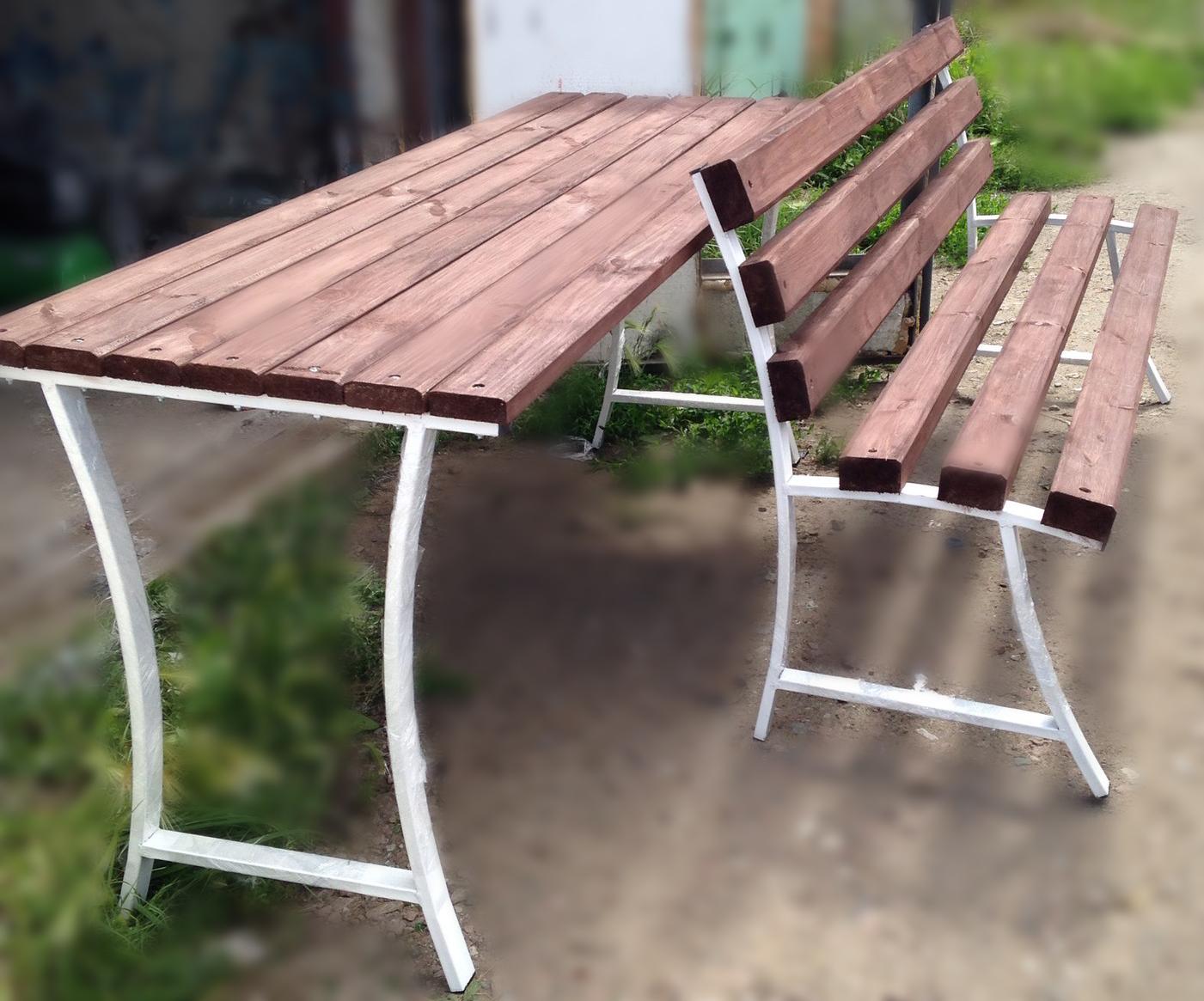 Навес над скамейкой своими руками