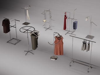 Proyecto emeca - Colgador de ropa de pie ...