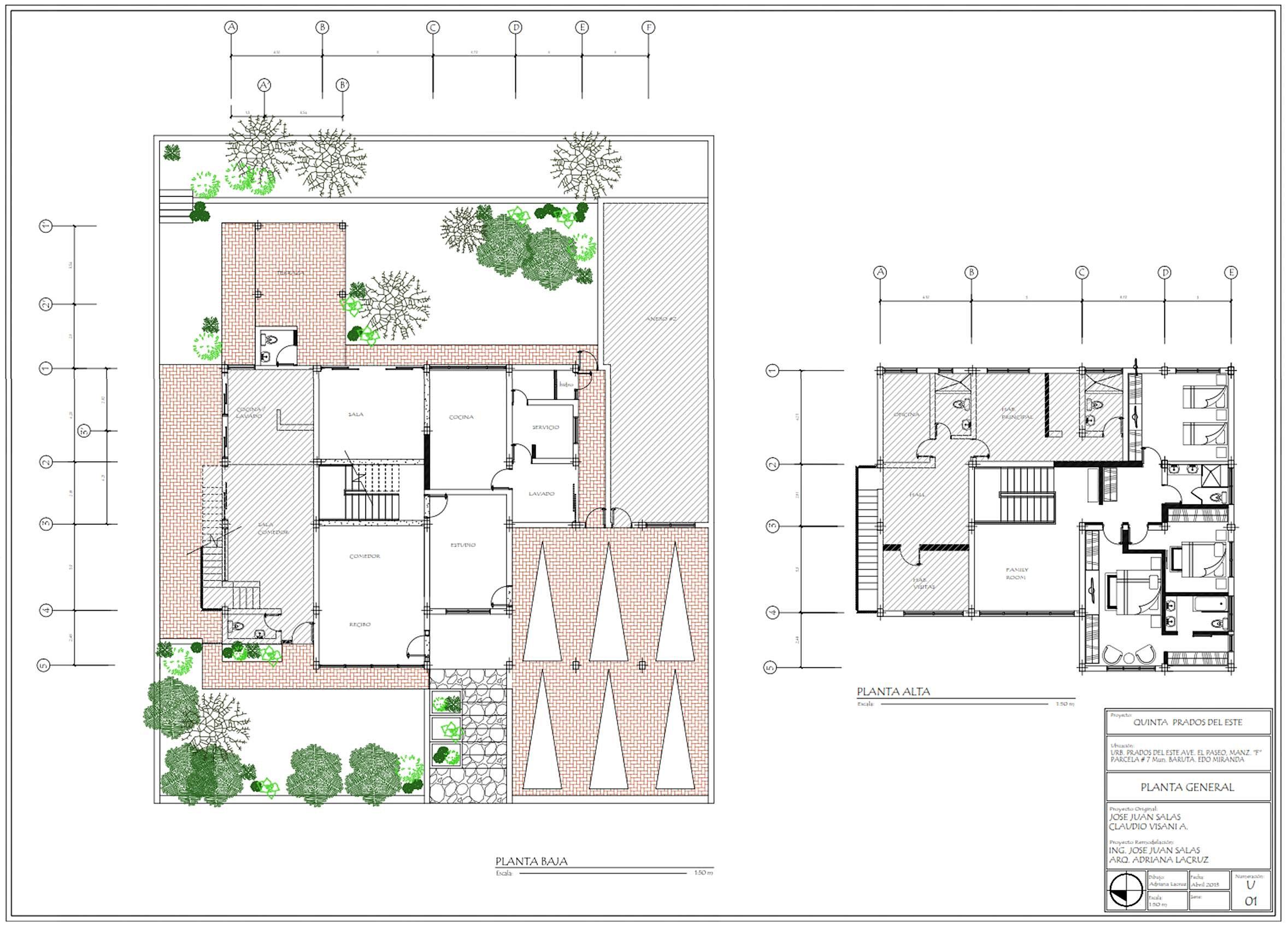 Al arquitectura remodelacion y dise o interior planos for Arquitectura planos y disenos