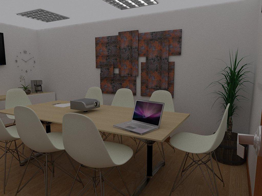 Al arquitectura remodelacion y dise o interior sala de for Sillas plasticas modernas