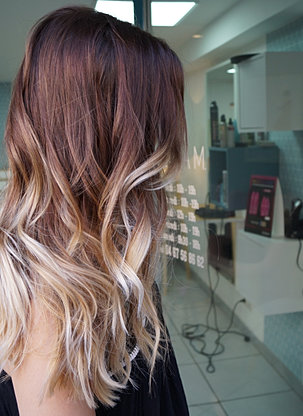 melissa m tie and dye montpellier ombre hair balayage coiffeur coloriste montpellier - Coiffeur Coloriste Montpellier