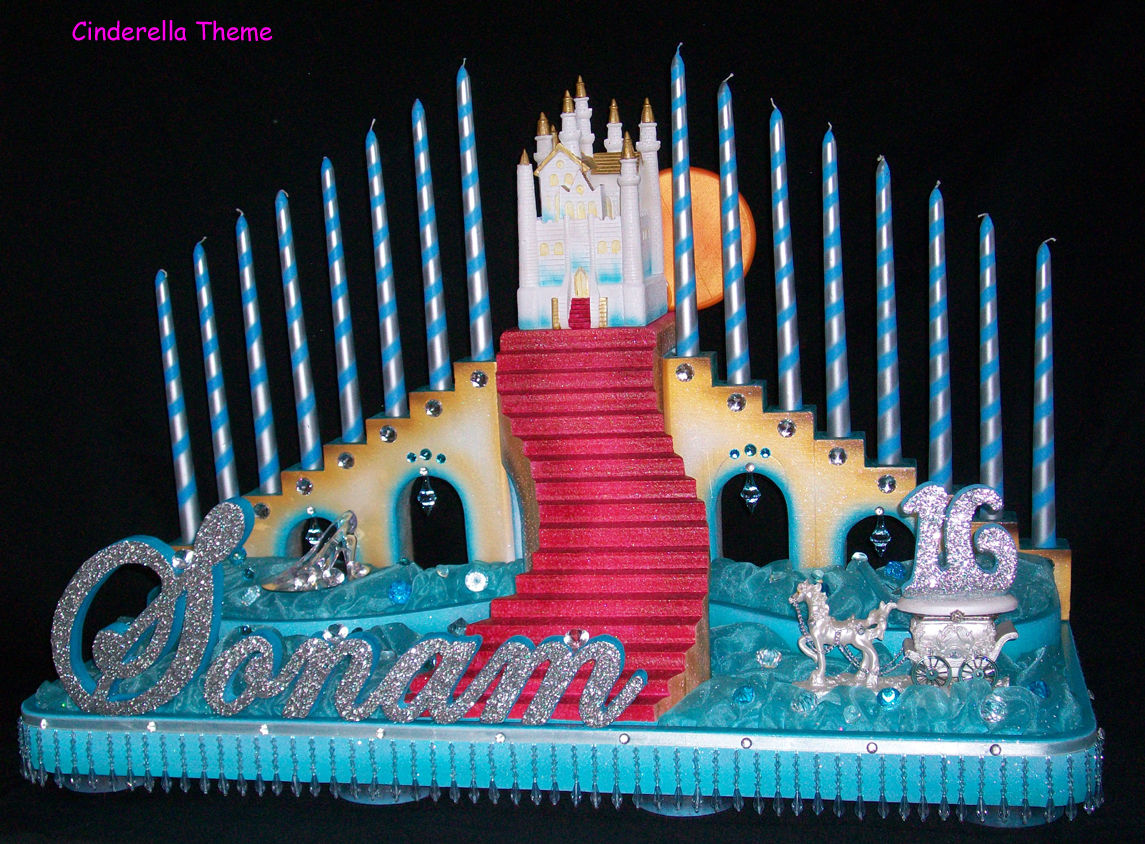 Sweet 16 and Quinceanera Candle Lighting Ceremony Stands
