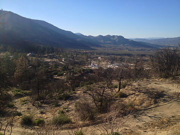 Pine Springs Ranch Hiking Trails