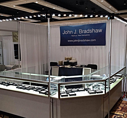 Trade show lighting led display fixtures for Jewelry display trade show