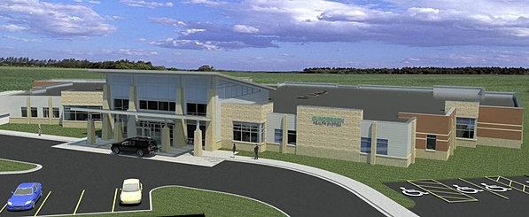 Sparta Medical Campus New Building