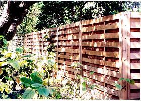 wood fence styles hsb