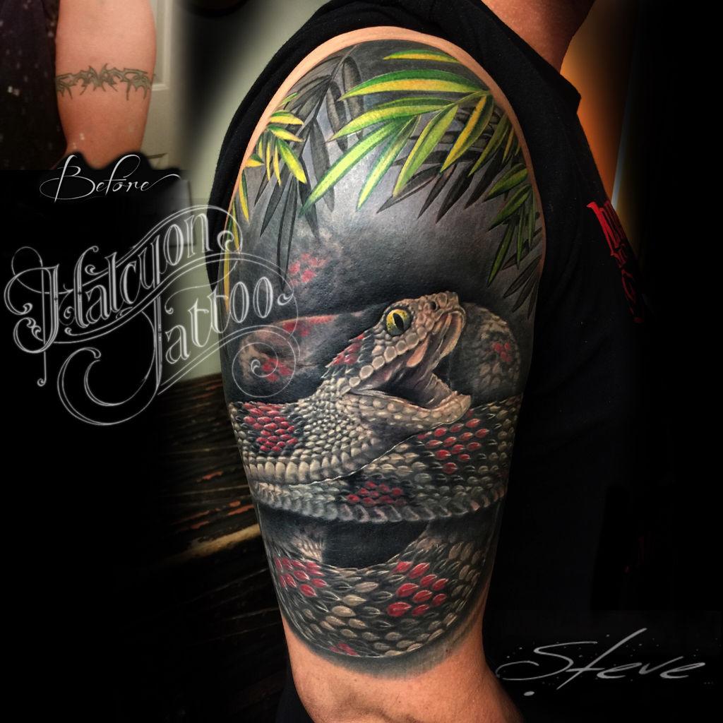 Halcyon Tattoo Windham Maine Tattoo Shop Steve Chambers