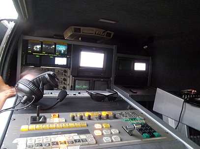 Unidad Móvil de TV.