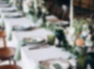 Bröllopsbordsställning