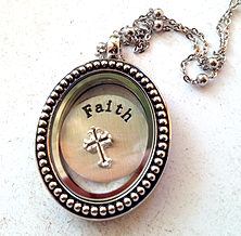 Oval Bead Memory Locket