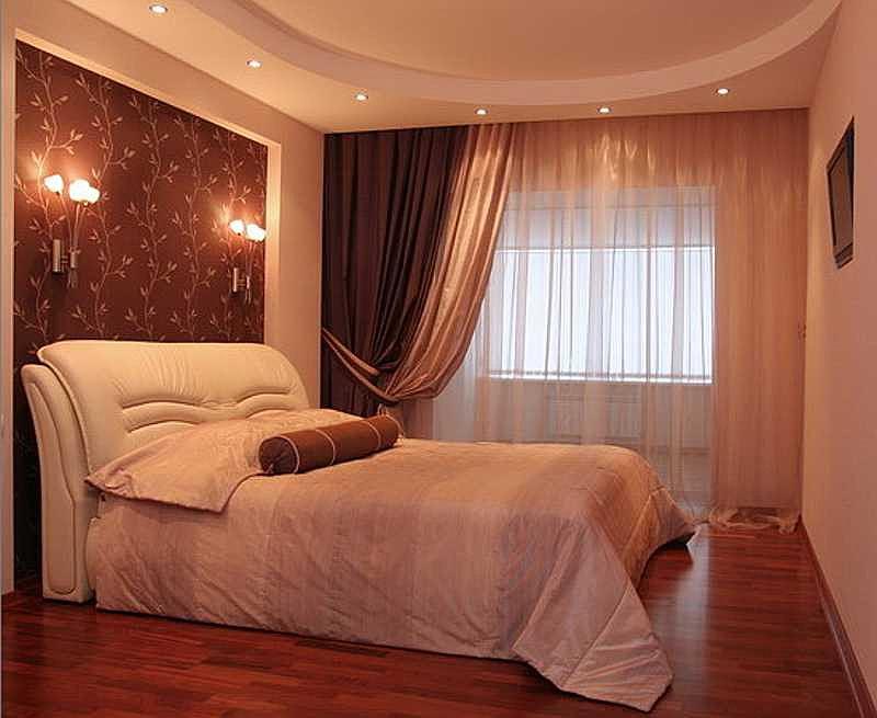 Шторы для небольшой спальни