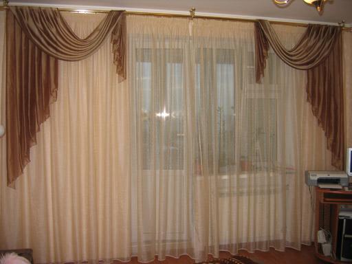 Тюль шторы фото своими руками
