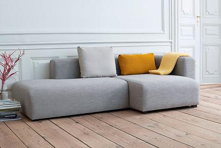 Mags Sofa Fiord 151_Mono Blanket Lemon S