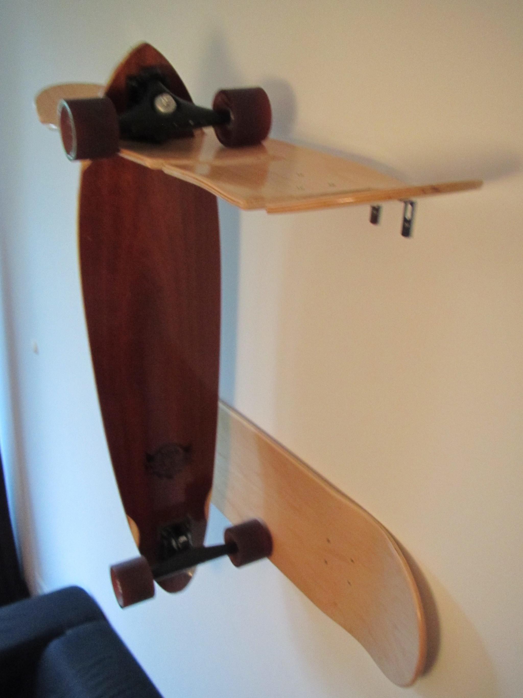 Крепление для скейтборда на стену своими руками