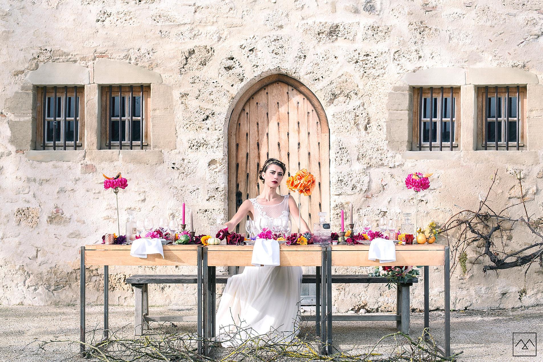 18 anna cruz maquillage et coiffure mariage lyon shooting inspiration collection 2017 - Coiffeuse Maquilleuse Mariage Lyon