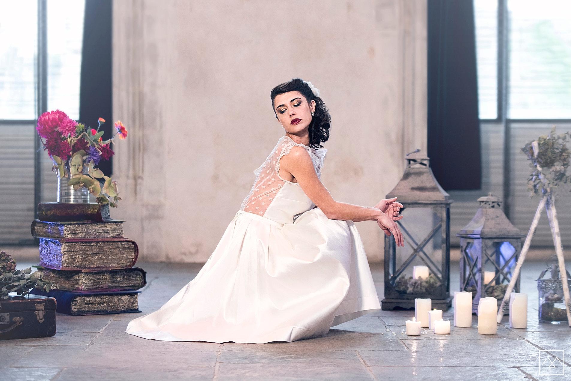 9 anna cruz maquillage et coiffure mariage lyon shooting inspiration collection 2017 - Coiffeuse Maquilleuse Mariage Lyon