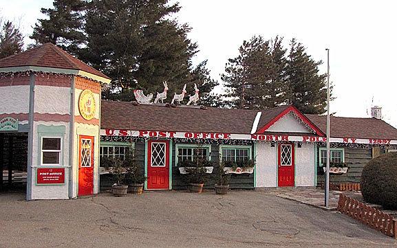 North Pole, NY home of Santa's Workshop | POST OFFICE