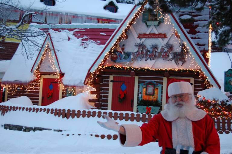 North Pole, NY home of Santa's Workshop