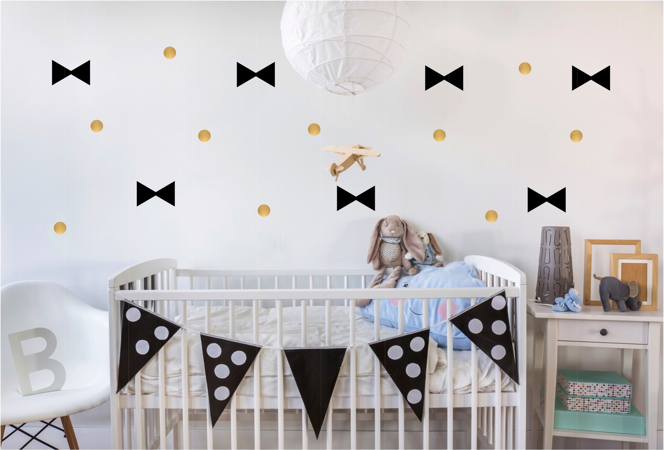 décoration chambre enfant fªte deuz stickers muraux