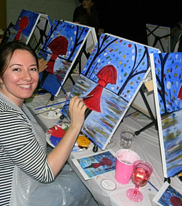 Paint and sip in temecula paint and wine class in temecula for Paint and wine temecula