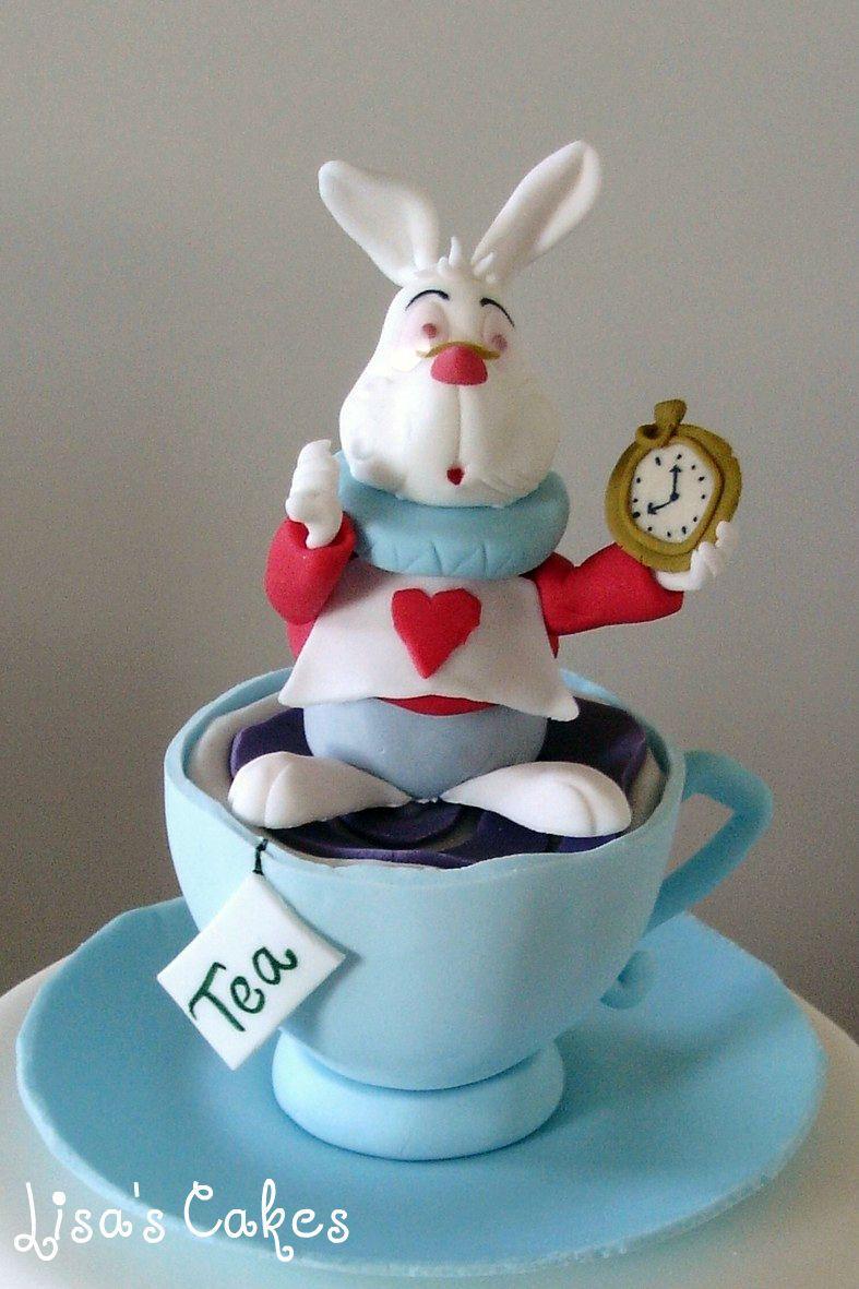 White Rabbit - Alice Cake