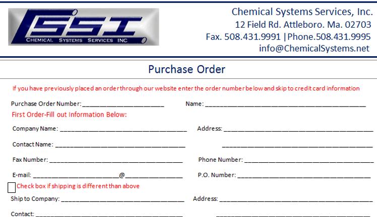Chemical Systems   Custom Plastic Fabrication   Plastic Manufacturer on maintenance form, drug abuse risk assessment form, computer form, marketing form,