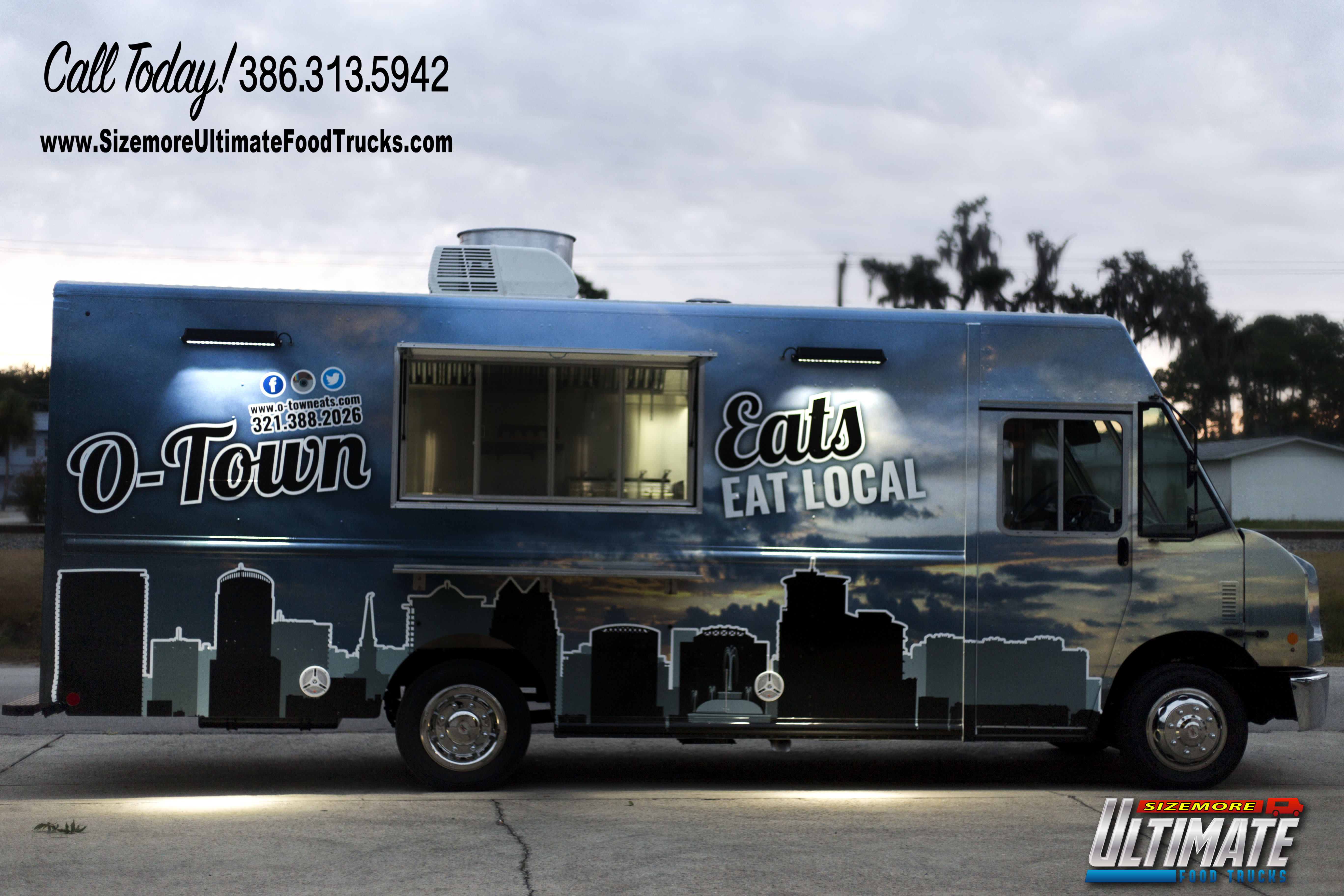 Custom ice cream trucks for sale in fl autos post for Design your own food truck online