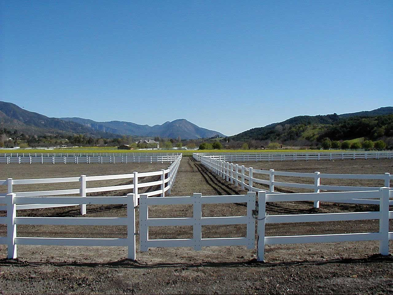 Vinyl Horse Fence Vinyl Privacy Fence Vinyl Picket