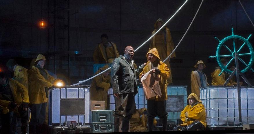 Jason Vest in Cincinnati Opera's The Flying Dutchman