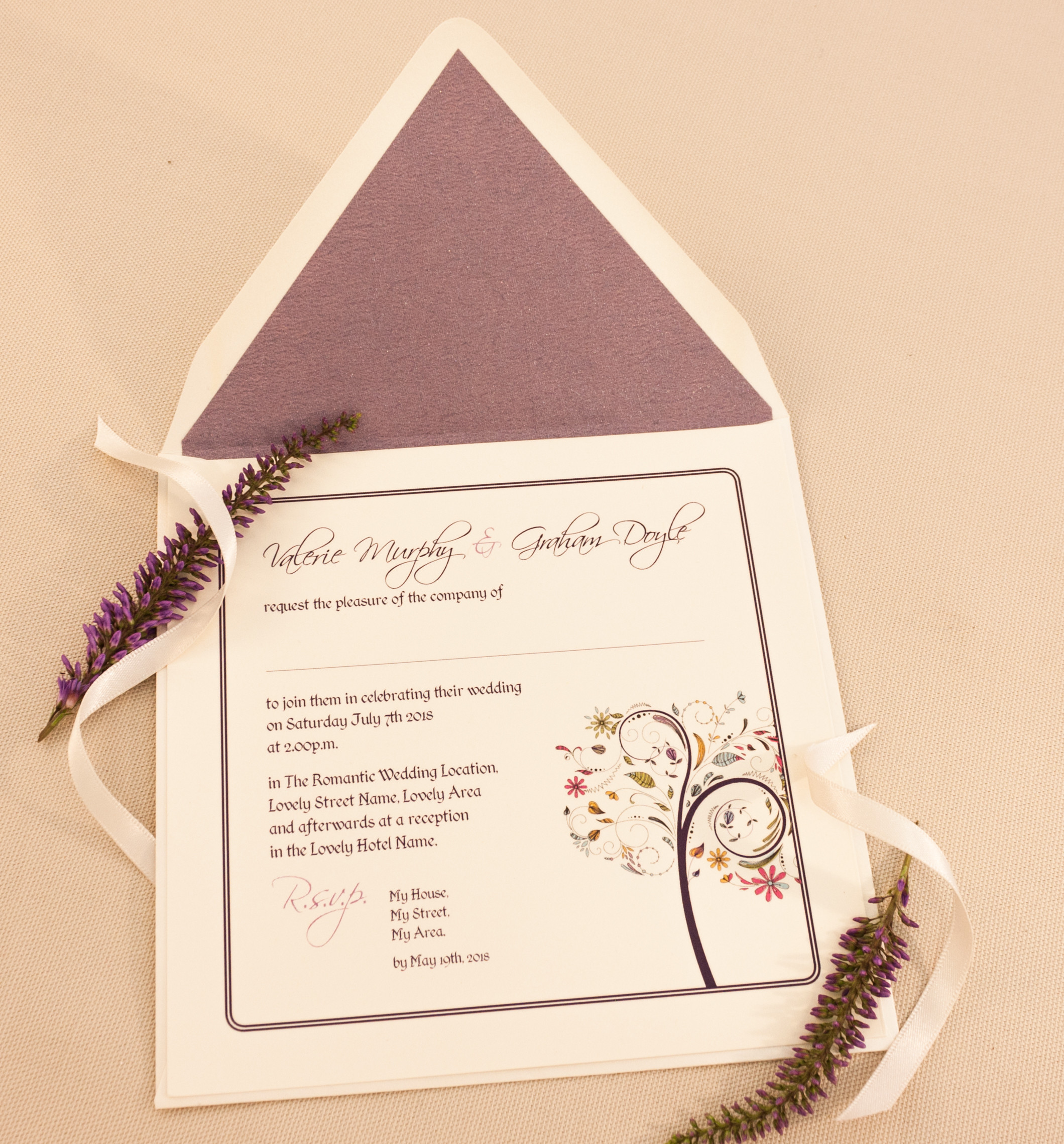 Wedding Stationery Specialists Ireland | Daintree | Covent Garden ...