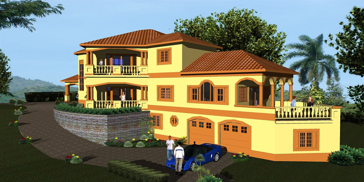 Jamaica home designs home design and style for House plans jamaica